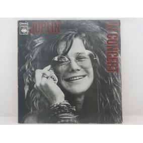 Lp - Janis Joplin - Joplin In Concert - Album Duplo - Raro