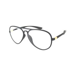 Armação Óculos De Grau Aviador Feminino Masculino Barato