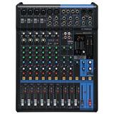 Mezcladora Análoga Yamaha Mg12xu Efectos E Interface Usb