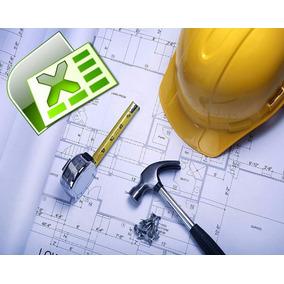 Plantilla Cálculos Ingeniería Civil Arquitectura Topografía