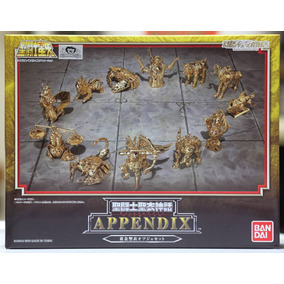 12 Armaduras De Ouro Appendix Mini-object Gold Cloth(bandai)