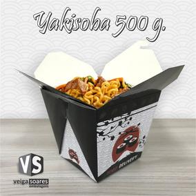 Embalagem Oriental Box Yakissoba 500ml (100 Unid.)