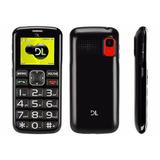 Telefone Para Idosos Tecla Sos Tecla Grande Dl Yc-110