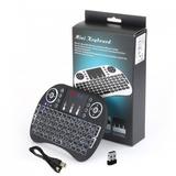 Mini Teclado Con Touchpad Retroiluminado/ Chilesstore