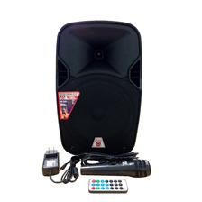 Bocina Amplificada 8'' Recargable Con Bluetooth