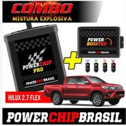 Chip Potência Nova Hilux 2.7 Flex 163cv +20cv +30% Torq Comb
