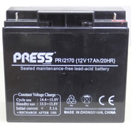 Bateria Sellada 12v 17ah Press Ups Led Alarmas Usos Varios