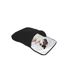 Purrrfect Life Saco De Dormir Para Gatos, Blanco / Negro