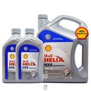 Aceite Shell Helix Hx8 Pro Av 5w40 Vw Golf Gti X 6 Litros