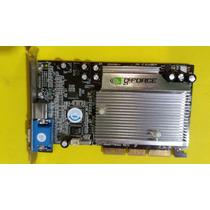 Placa De Video Geforce - 64mb Mx4000 - Semi Novo