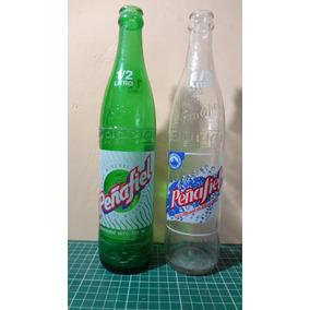 Botellas Antigua De Refresco Penafiel Tehuacan 1/2