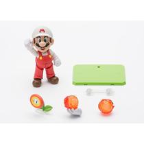 Nintendo Mario Fire De Mario Bros Sh Figuarts Bandai