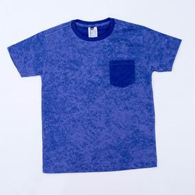 Camiseta Infantil Criança Menino Gola Careca Top Estilosa