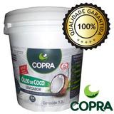 Balde Oleo De Coco Copra Sem Sabor 3,2l Litros