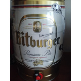 Cerveza Bitburger Barril De 5 Lts. Alemana (ituzaingó)