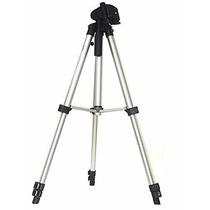 Tripé Universal Com Nivel Para Camera Filmadora Telescópio
