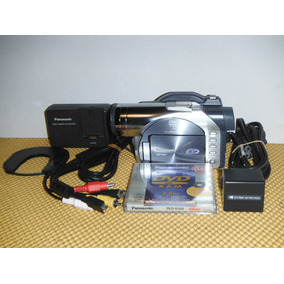 Videocámara Panasonic Dvd Con Sd Card Vdr-m50 (01)