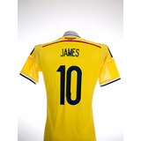 Camisa Selección Colombia James Rodriguez