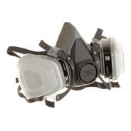 Respirador 3m 6100  T. S + C  6001 + Filtro N95 + Retenedor