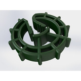 Espaçador Circular Plástico Ferragem Concreto 20mm 2000 Und.