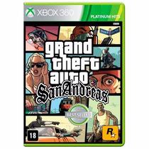 Gta Grand Theft Auto San Andreas Xbox 360 Lacrado + Brinde