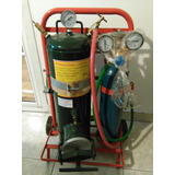 Equipo Soldar Autógena Gasógeno 1 Kg X 1/2 M3 Oxi-acetileno