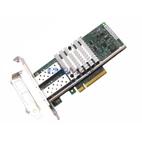Placa De Rede Pci-e Intel X520-da2 10gb Sfp+ 82599es