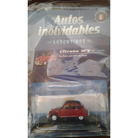 Autos Inolvidables - Salvat - Nro 6 - Citroen 3cv