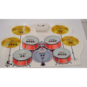 Kit De Bateria Dobrável - Roll Up Drum Kit