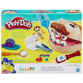 Hasbro Play-doh Juego De Masa Dentista Jugueteria Bunny Toys