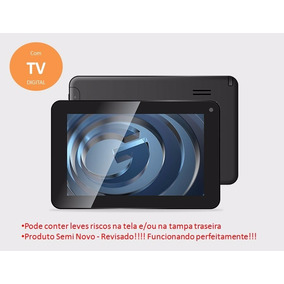 Tablet Gradiente C/ Tv Digital E Google Play- Tb702 - Barato
