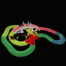 Magic Tracks Mega Set 360 Pcs, 2 Carros Puentes   La De Tv