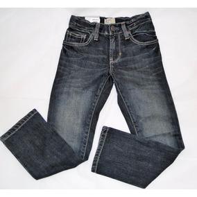 Gap Jean Recto Cintura Ajustable Niña Talle 7