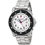 Reloj Suizo De Cuarzo Plata Victorinox Para Hombre 241677 An