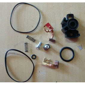 Kit Escova Motor Partida Fazer250 2011- 2014 Magnetron