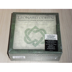 Box Leonard Cohen - The Complete Studio Albums (11 Cd