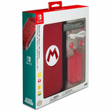 Nintendo Switch Super Mario Bros Kit Completo Funda Estuche