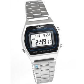 Reloj Caballero Retro B640wd-1 Gris Plata/negro Casio