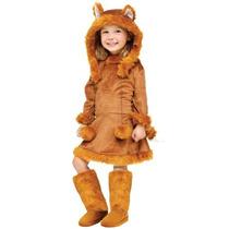Traje De Fox Kids Dulce W15