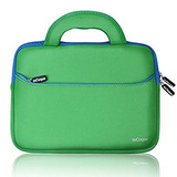 Mcoque Quality Neoprene Bag For Asus Chromebook Flip -verde