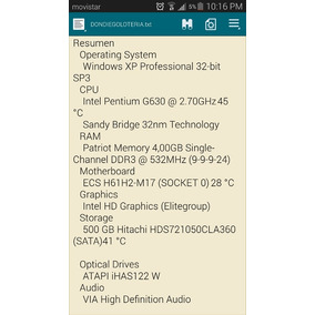 Comoutadora Intel Pentium G630