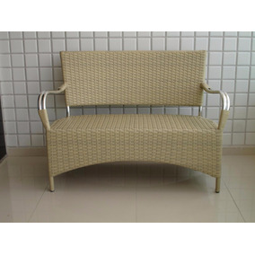 Cadeira Namoradeira Junco Fibra Sintetica Moveis Jardim Sala