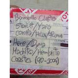 Bombillo Closter Cluster Toyota Yaris/machito/starlet/coroll