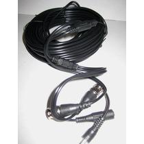 Cable Hd Siames Coaxial 20mts Camara Cctv Video Voltaje