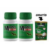 Moder Diet 40 Caps Pague 1 Leve 2 + 1 Un Oleo De Coco 15g