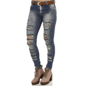 Calça Com Ajustador Elastico - Calças Feminino no Mercado Livre Brasil 363457ed927