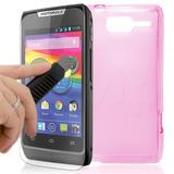 Kit 2 Capas + 2 Películas Motorola Razr D1 Premium Case