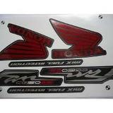Kit Jogo Adesivo Faixa Moto 150 Fan Esi 2012 12 Preta 1042