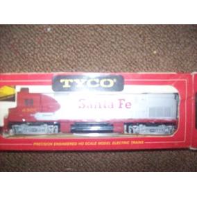 Locomotora Tyco Diesel Santa Fe