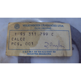Calço De Ajuste Do Garfo Caixa Redução Ford Original 2,0 Mm